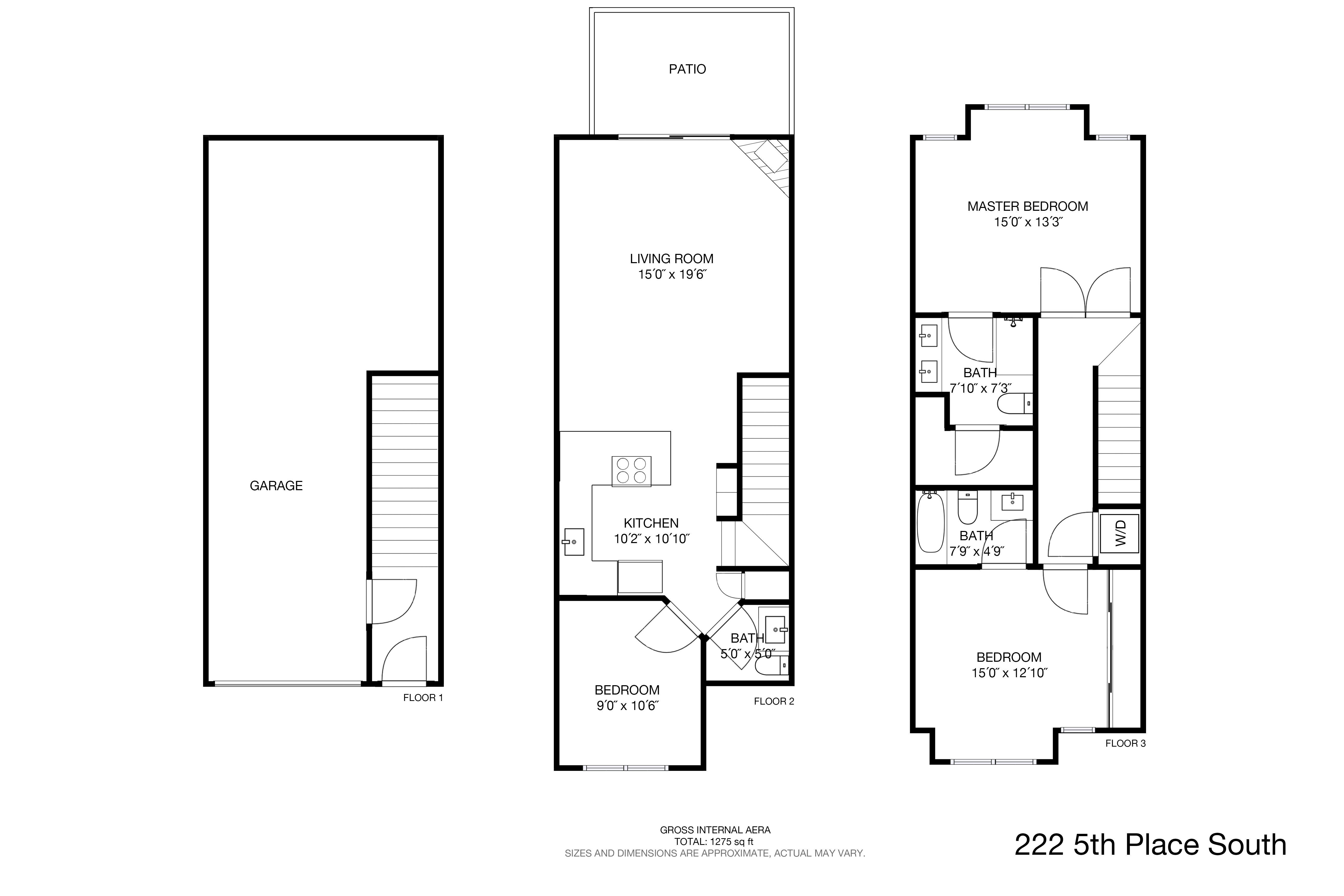 222 5th Place South Floor Plan 2
